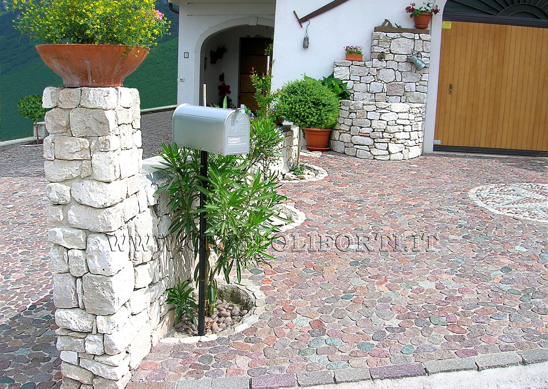Vendita sassi da giardino verona giardino castelli for Sassi da giardino obi